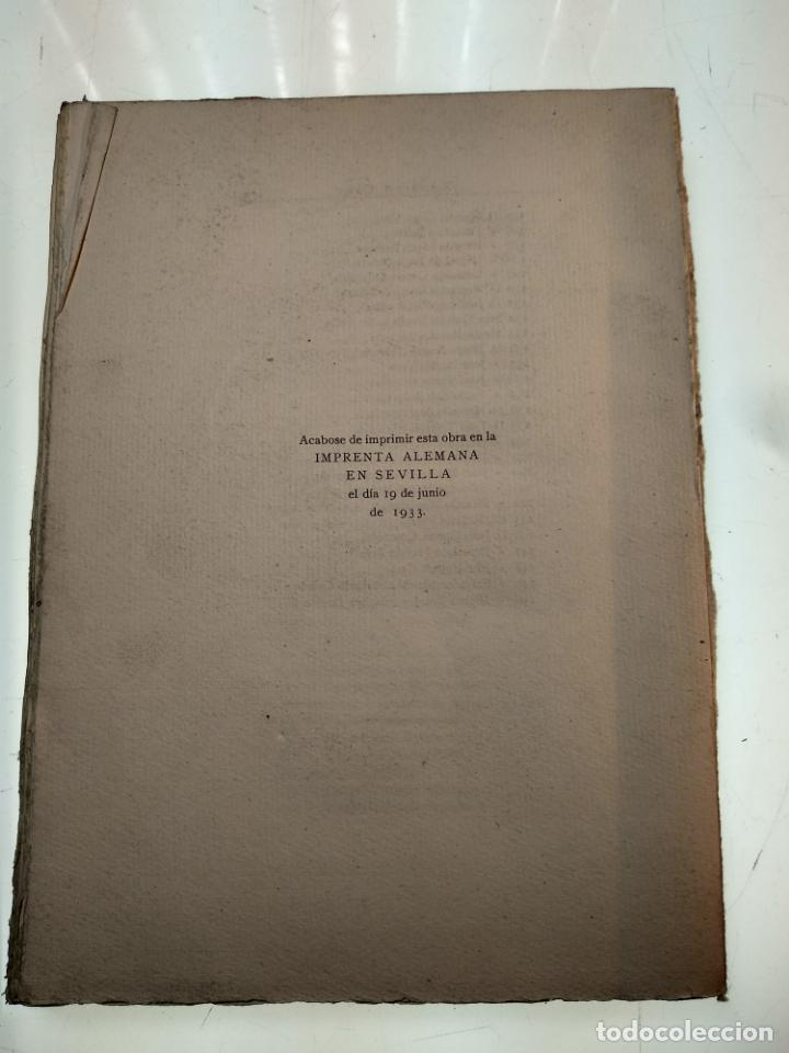 Libros antiguos: ADICIONES AL PRINCIPADO Y ANTIGÜEDADES DE LA CIUDAD DE SEVILLA - RODRIGO CARO - SEVILLA - 1932 - - Foto 11 - 140921986