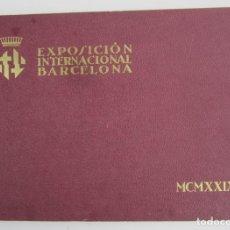 Libros antiguos: CATÁLOGO FOTOGRÁFICO EXPOSICIÓN INTERNACIONAL BARCELONA 1929. 33,5X24CM. Lote 141175142