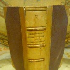 Libros antiguos: ORGANIZACIÓN, ATRIBUCIONES Y PROCEDIMIENTOS DEL CONSEJO DE ESTADO. IMPRENTA NACIONAL 1.861.. Lote 143642978