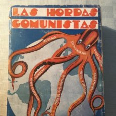 Libros antiguos: VARELA, A. H. LAS HORDAS COMUNISTAS. [COMUNISMO, ANTICOMUNISMO]. Lote 144449654