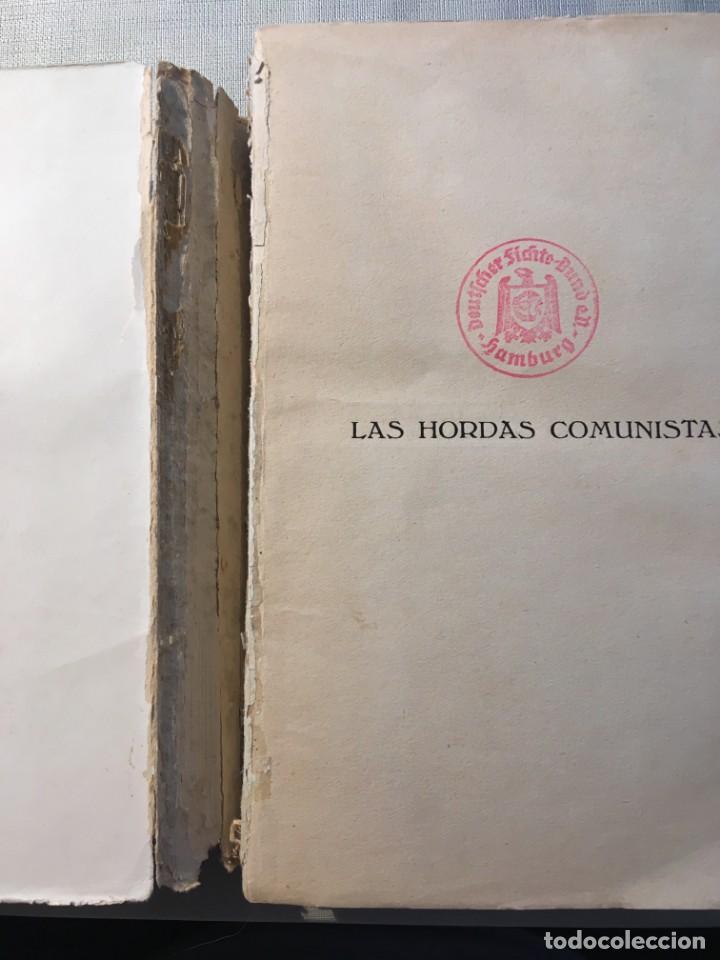Libros antiguos: Varela, A. H. Las hordas comunistas. [Comunismo, Anticomunismo] - Foto 2 - 144449654