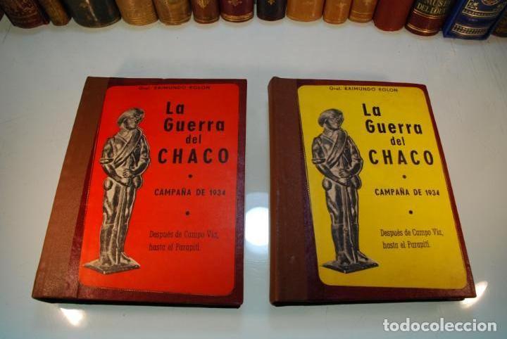 Libros antiguos: LA GUERRA DEL CHACO - GRAL. RAIMUNDO ROLON - CAMPAÑA 1934 - 2 TOMOS - DESPUÉS DE CAMPO VIA HASTA EL - Foto 2 - 144564334