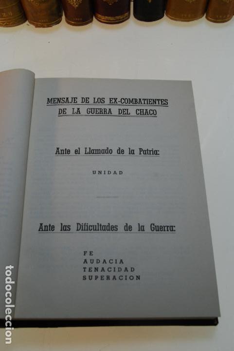 Libros antiguos: LA GUERRA DEL CHACO - GRAL. RAIMUNDO ROLON - CAMPAÑA 1934 - 2 TOMOS - DESPUÉS DE CAMPO VIA HASTA EL - Foto 12 - 144564334