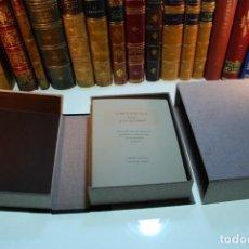 Libros antiguos: IMPORTANTE EDICIÓN FASCIMILAR DEL MANUSCRITO DEL VIAJE A LA ALCARRIA - CAMILO JOSE CELA - 80 ANIVERS. Lote 263796645