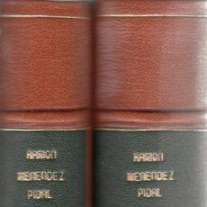 Libros antiguos: RAMÓN MENÉNDEZ PIDAL. LA ESPAÑA DEL CID. 1ª ED. MADRID, 1929. BONITA ENCUADERNACIÓN.. Lote 145490138