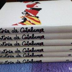 Libros antiguos: HISTORIA DE CATALUÑA /SALVAT 1979 /6 VOLUMENES. Lote 146394882