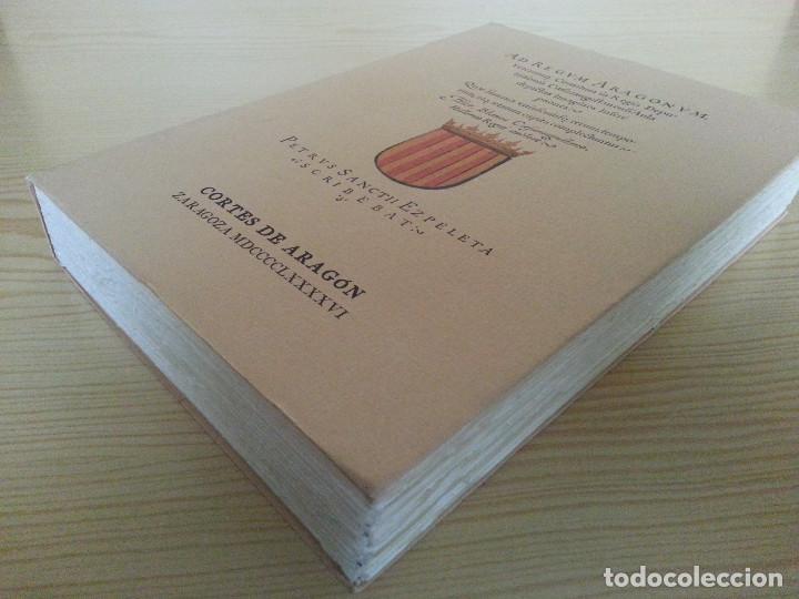 Libros antiguos: JERÓNIMO BLANCAS: AD REGUM ARAGONUM. INSCRIPCIONES RETRATOS REYES SOBRARBE Y ARAGÓN - FACSÍMIL, RARO - Foto 4 - 146683386