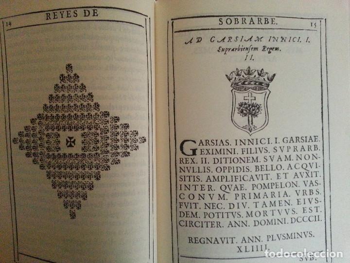 Libros antiguos: JERÓNIMO BLANCAS: AD REGUM ARAGONUM. INSCRIPCIONES RETRATOS REYES SOBRARBE Y ARAGÓN - FACSÍMIL, RARO - Foto 7 - 146683386