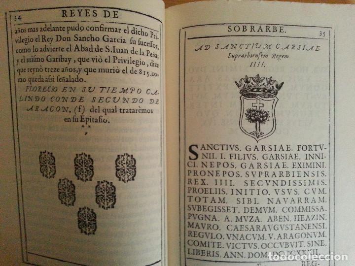 Libros antiguos: JERÓNIMO BLANCAS: AD REGUM ARAGONUM. INSCRIPCIONES RETRATOS REYES SOBRARBE Y ARAGÓN - FACSÍMIL, RARO - Foto 9 - 146683386