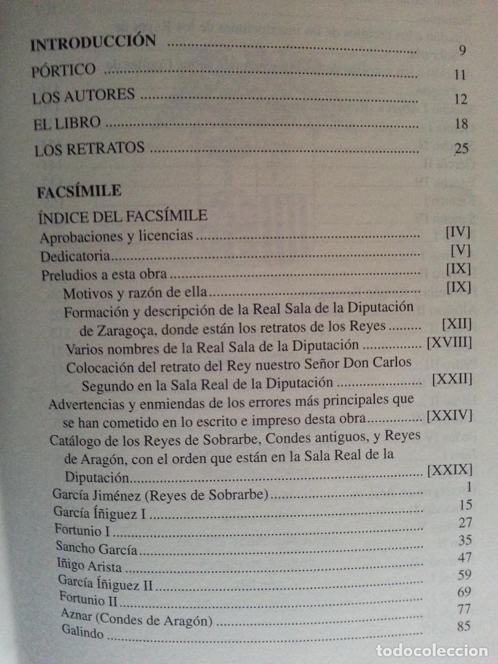 Libros antiguos: JERÓNIMO BLANCAS: AD REGUM ARAGONUM. INSCRIPCIONES RETRATOS REYES SOBRARBE Y ARAGÓN - FACSÍMIL, RARO - Foto 11 - 146683386