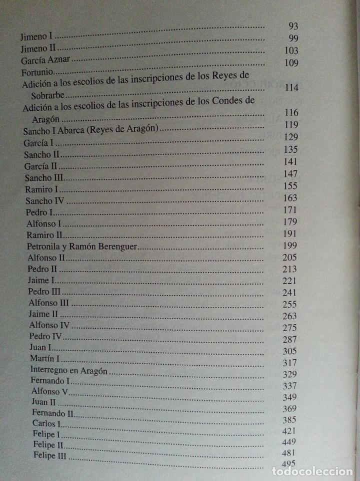 Libros antiguos: JERÓNIMO BLANCAS: AD REGUM ARAGONUM. INSCRIPCIONES RETRATOS REYES SOBRARBE Y ARAGÓN - FACSÍMIL, RARO - Foto 12 - 146683386