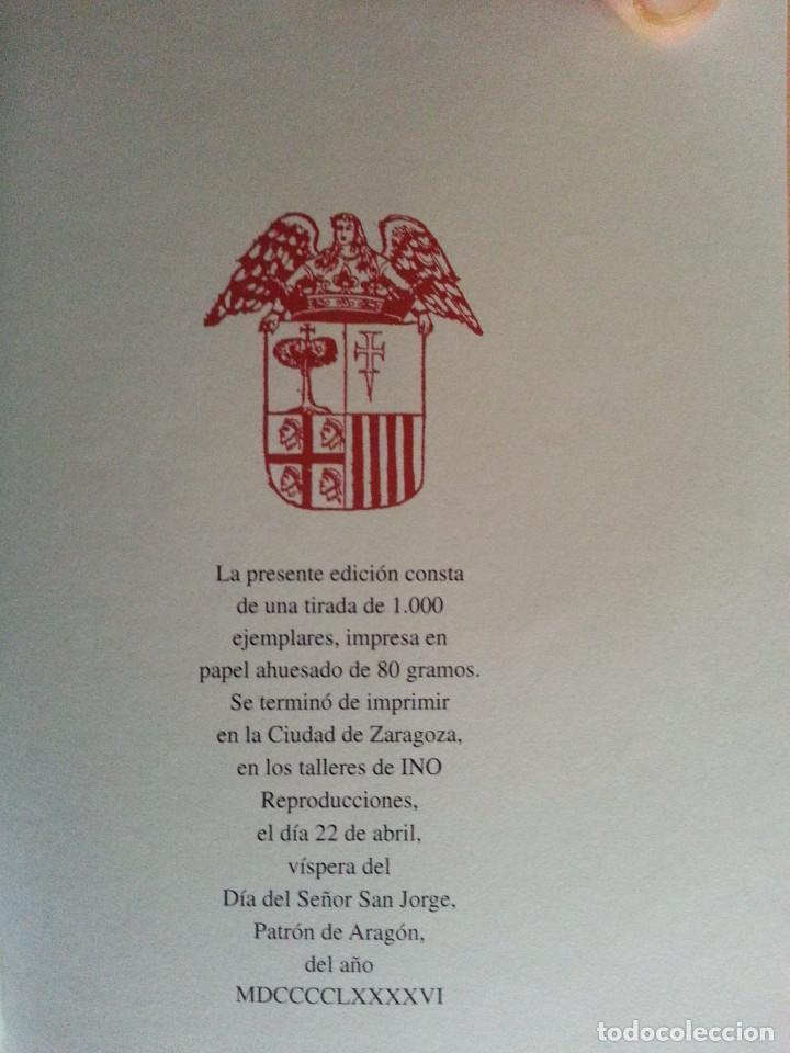 Libros antiguos: JERÓNIMO BLANCAS: AD REGUM ARAGONUM. INSCRIPCIONES RETRATOS REYES SOBRARBE Y ARAGÓN - FACSÍMIL, RARO - Foto 13 - 146683386