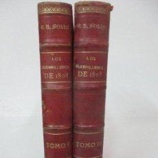 Libros antiguos: LOS GUERRILLEROS DE 1808 -HISTORIA POPULAR DE LA GUERRA DE LA INDEPENDENCIA -E. RODRIGUEZ-SOLIS 1895. Lote 147447206