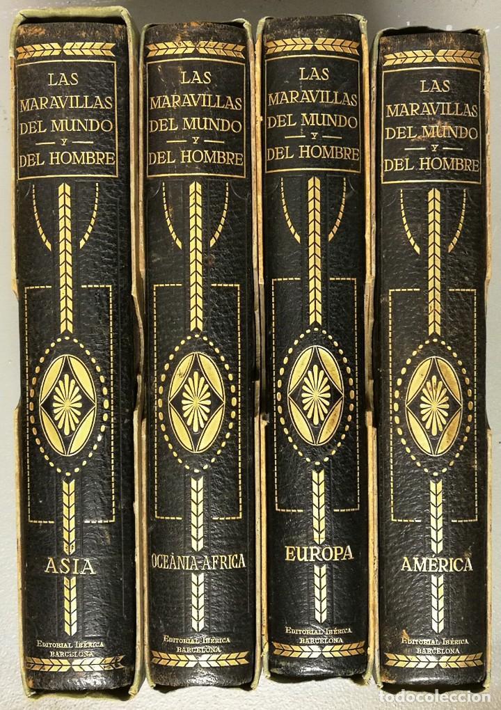 NUMULITE E0034 LAS MARAVILLAS DEL MUNDO Y DEL HOMBRE EDITORIAL IBÉRICA AMÉRICA EUROPA ASIA OCEANIA (Libros antiguos (hasta 1936), raros y curiosos - Historia Moderna)