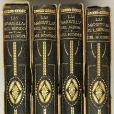Libros antiguos: NUMULITE E0034 LAS MARAVILLAS DEL MUNDO Y DEL HOMBRE EDITORIAL IBÉRICA AMÉRICA EUROPA ASIA OCEANIA. Lote 147878214