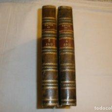 Libros antiguos: REVUE DES ÉTUDES NAPOLÉONIENNES. 2 TOMOS.. Lote 147905238