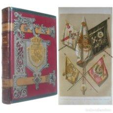 Libros antiguos: 1890 - HISTORIA DE ESPAÑA, REVOLUCIÓN DE 1840, ESPARTERO, MARÍA CRISTINA, SEGUNDA GUERRA CARLISTA. Lote 148014790