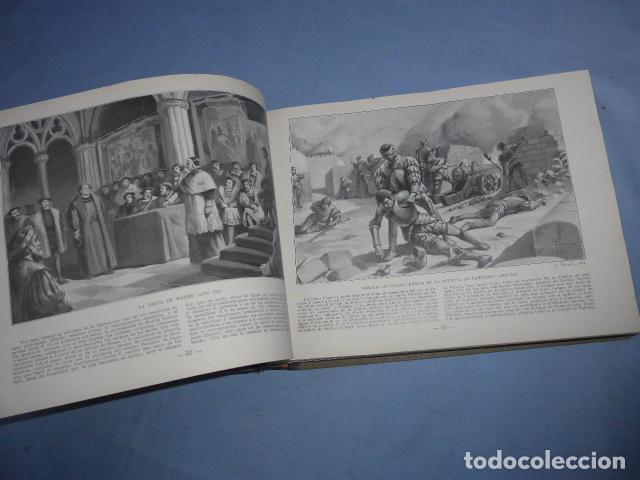 Libros antiguos: * Antiguo libro de portfolio de historia de españa, tomo 2. Original. ZX - Foto 5 - 148537510