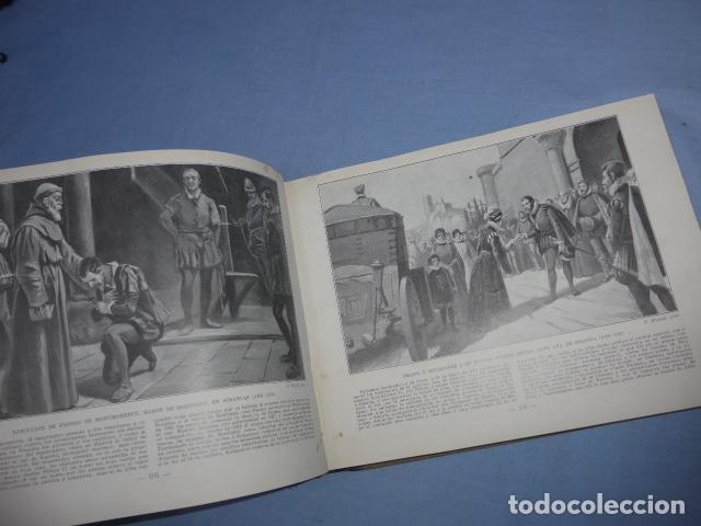 Libros antiguos: * Antiguo libro de portfolio de historia de españa, tomo 2. Original. ZX - Foto 6 - 148537510