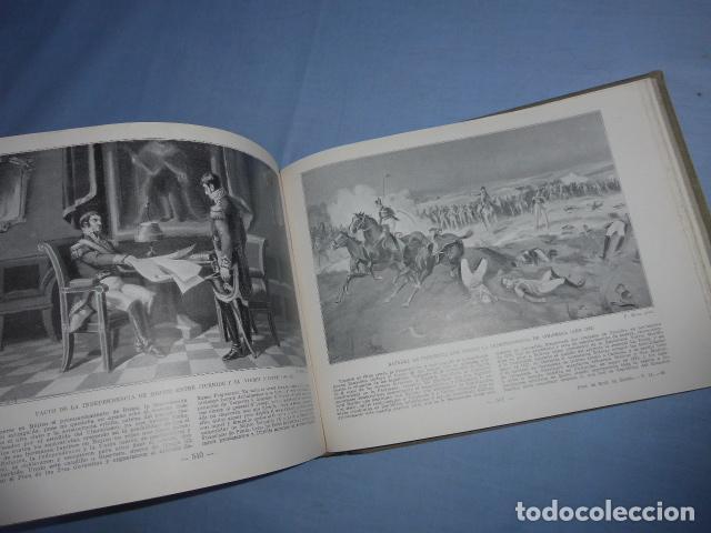 Libros antiguos: * Antiguo libro de portfolio de historia de españa, tomo 2. Original. ZX - Foto 7 - 148537510