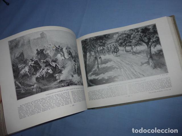 Libros antiguos: * Antiguo libro de portfolio de historia de españa, tomo 2. Original. ZX - Foto 8 - 148537510