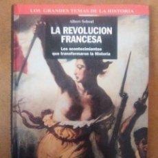 Libros antiguos: LA REVOLUCION FRANCESA (ALBERT SOBOUL) CARTONE - OFI15B. Lote 148546158
