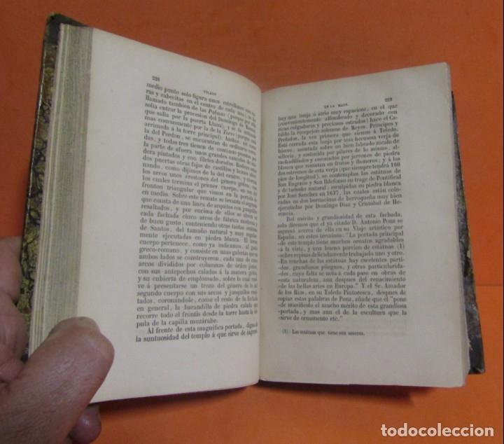 Libros antiguos: TOLEDO EN LA MANO (TOMO I Y II) D. SIXTO RAMON PARRO. CON FIRMAS AUTENTIFICADORAS 1ª EDIC. AÑO 1857 - Foto 6 - 148912026