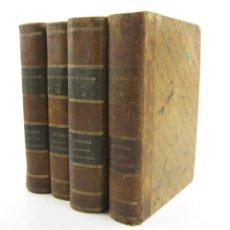 Libros antiguos: HISTOIRE DE MADAME DE MAINTENON, RÈGNE DE LOUIS XIV, DUC DE NOAILLES, 1849, 4 TOMOS, PARIS. 24X17CM. Lote 149947074