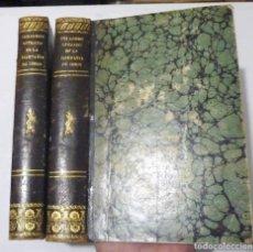 Libros antiguos: VERDADERO RETRATO AL DAGUERREOTIPO DE LA COMPAÑÍA DE JESÚS IMPRENTA DE PONS Y C.ª, 1852. 2 VOL.. Lote 150129638