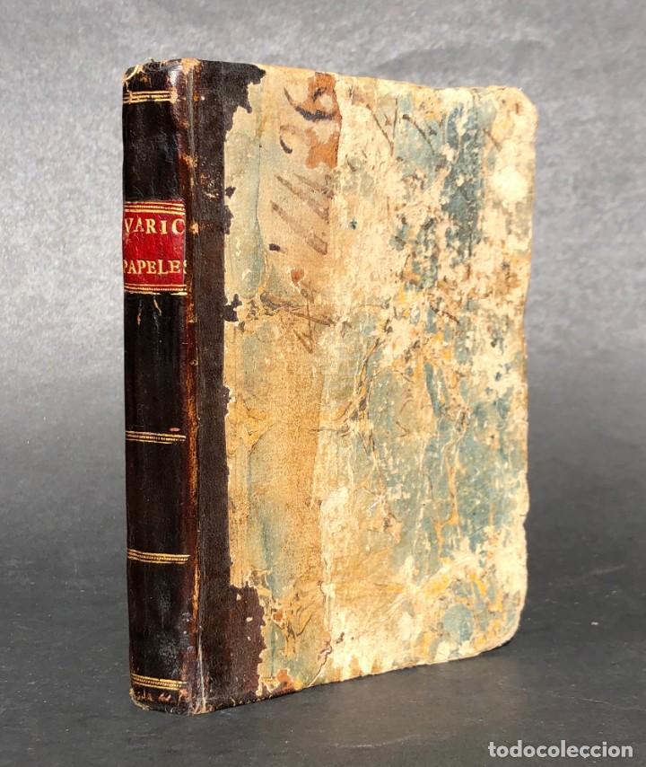 1808 - VARIOS PAPELES - DOCUMENTOS RELATIVOS A LA OCUPACIÓN DE NAPOLEÓN - GUERRA DE INDEPENDENCIA - (Libros antiguos (hasta 1936), raros y curiosos - Historia Moderna)