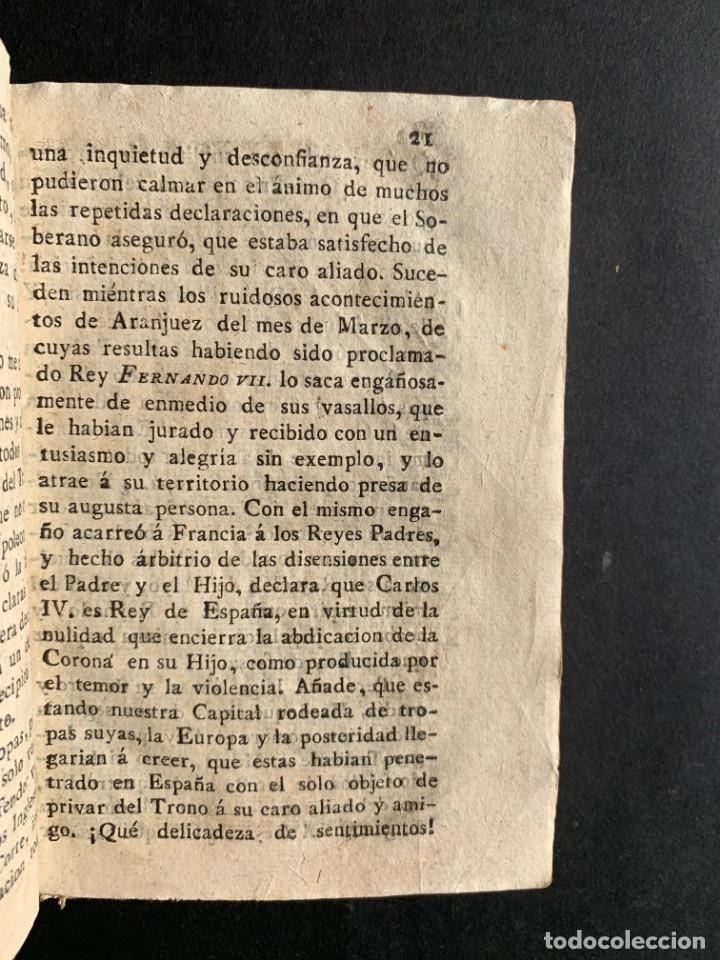 Libros antiguos: 1808 - Varios Papeles - Documentos relativos a la ocupación de Napoleón - Guerra de Independencia - - Foto 5 - 150256578