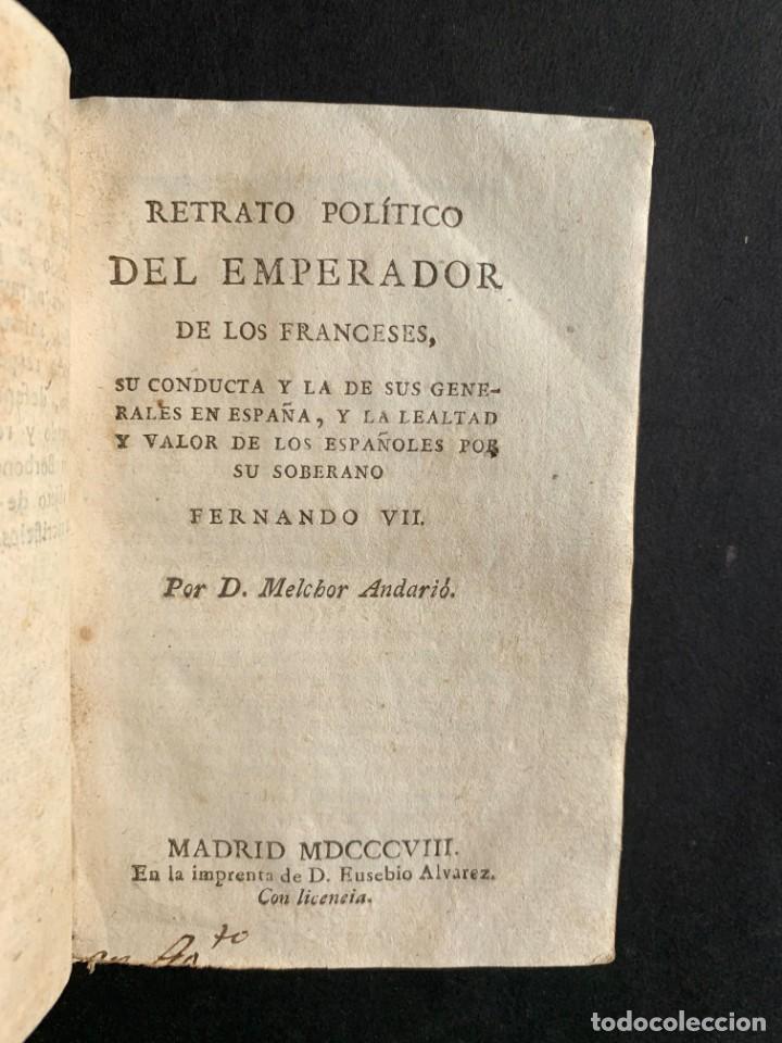 Libros antiguos: 1808 - Varios Papeles - Documentos relativos a la ocupación de Napoleón - Guerra de Independencia - - Foto 7 - 150256578
