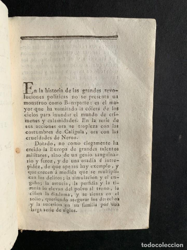 Libros antiguos: 1808 - Varios Papeles - Documentos relativos a la ocupación de Napoleón - Guerra de Independencia - - Foto 8 - 150256578