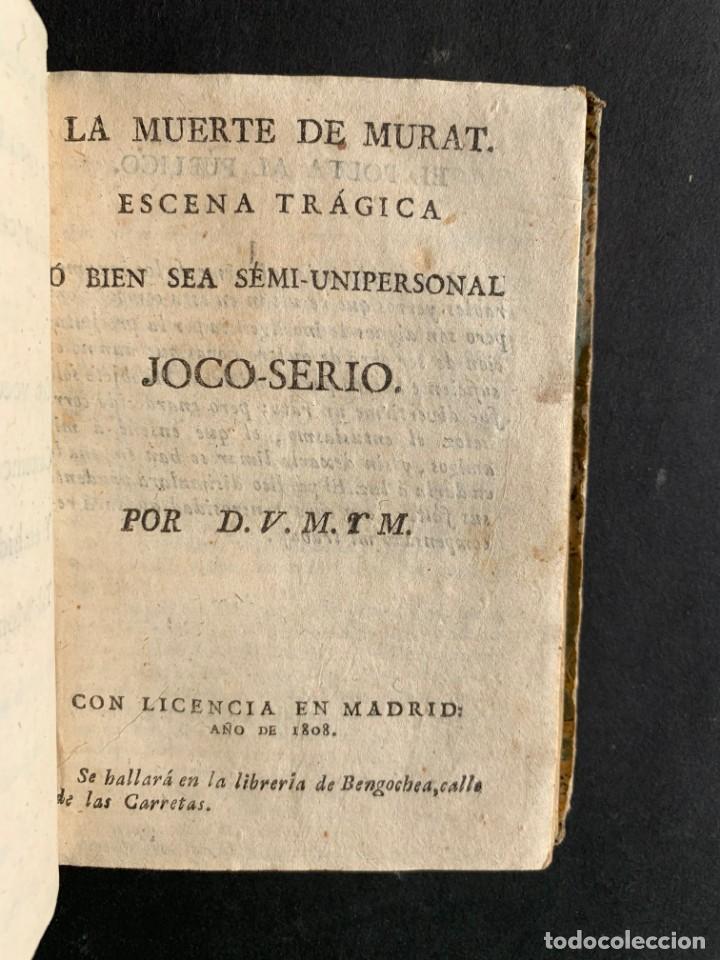 Libros antiguos: 1808 - Varios Papeles - Documentos relativos a la ocupación de Napoleón - Guerra de Independencia - - Foto 13 - 150256578