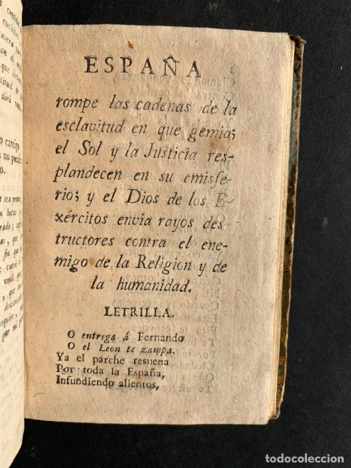 Libros antiguos: 1808 - Varios Papeles - Documentos relativos a la ocupación de Napoleón - Guerra de Independencia - - Foto 16 - 150256578