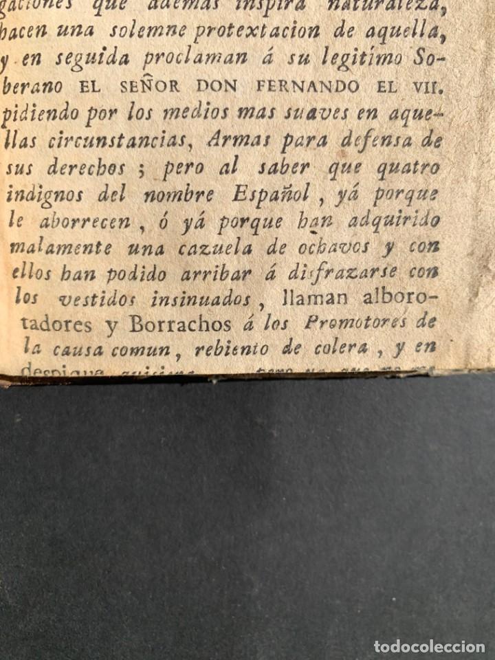 Libros antiguos: 1808 - Varios Papeles - Documentos relativos a la ocupación de Napoleón - Guerra de Independencia - - Foto 22 - 150256578