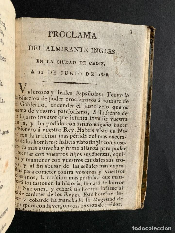 Libros antiguos: 1808 - Varios Papeles - Documentos relativos a la ocupación de Napoleón - Guerra de Independencia - - Foto 25 - 150256578