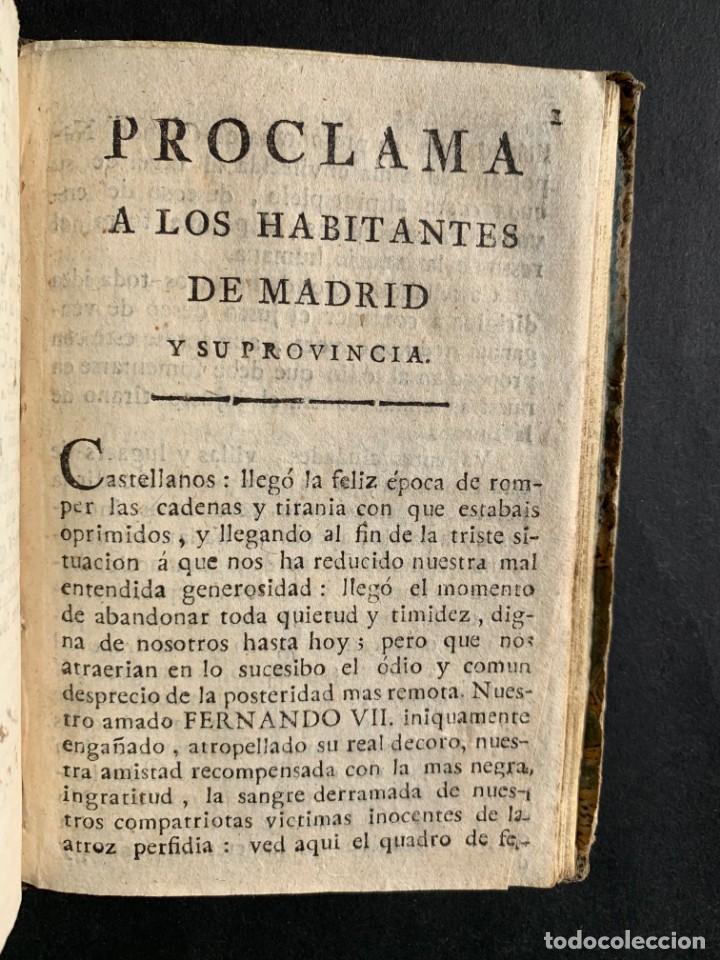 Libros antiguos: 1808 - Varios Papeles - Documentos relativos a la ocupación de Napoleón - Guerra de Independencia - - Foto 27 - 150256578