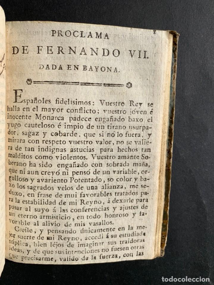 Libros antiguos: 1808 - Varios Papeles - Documentos relativos a la ocupación de Napoleón - Guerra de Independencia - - Foto 28 - 150256578