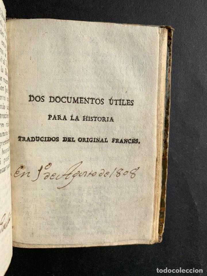 Libros antiguos: 1808 - Varios Papeles - Documentos relativos a la ocupación de Napoleón - Guerra de Independencia - - Foto 29 - 150256578