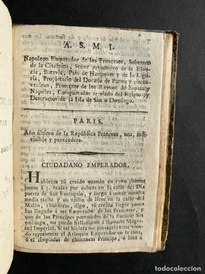 Libros antiguos: 1808 - Varios Papeles - Documentos relativos a la ocupación de Napoleón - Guerra de Independencia - - Foto 30 - 150256578