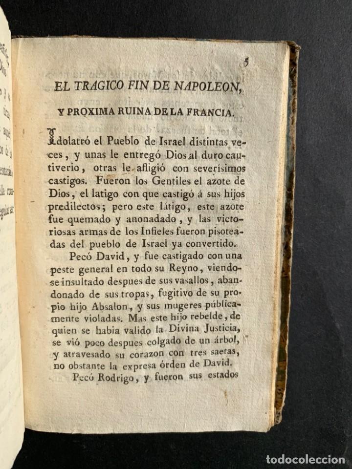 Libros antiguos: 1808 - Varios Papeles - Documentos relativos a la ocupación de Napoleón - Guerra de Independencia - - Foto 33 - 150256578
