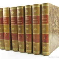 Libros antiguos: HISTORIA CRÍTICA (CIVIL Y ECLESIÁSTICA) DE CATALUÑA, 1876 - 1878, ANTONIO DE BOFARULL BROCÀ, 8 TOMOS. Lote 150345858