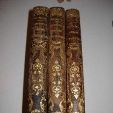 Libros antiguos: HISTORIA DE LOS GIRONDINOS. A DE LAMARTINE. 1877 TRES TOMOS.COMPLETA. Lote 152523378