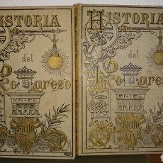 Libros antiguos: HISTORIA DEL PROGRESO 2 TOMOS. Lote 152743617