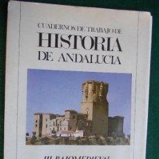 Libros antiguos: CUADERNOS DE TRABAJO DE HISTORIA DE ANDALUCIA III. BAJO MEDIAVAL. Lote 152882498