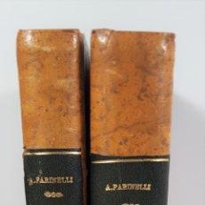 Libros antiguos: VIAJES POR ESPAÑA Y PORTUGAL. 2 TOMOS. ARTURO FARINELLI. ROMA. 1942.. Lote 153168474