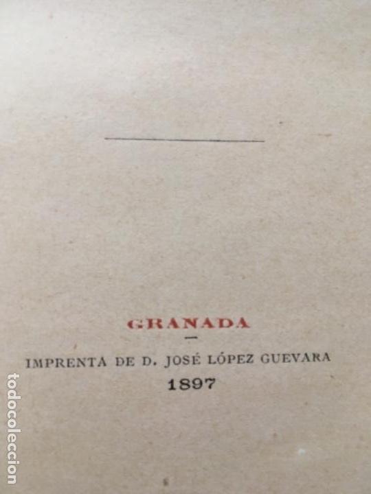 Libros antiguos: MEMORIA ACERCA DEL RESTABLECIMIENTO DE LOS ESTUDIOS DE DERECHO EN EL SACRO-MONTE DE GRANADA. - Foto 4 - 153530810