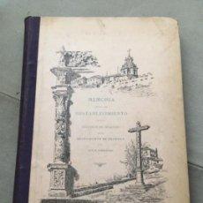 Libros antiguos: MEMORIA ACERCA DEL RESTABLECIMIENTO DE LOS ESTUDIOS DE DERECHO EN EL SACRO-MONTE DE GRANADA.. Lote 153530810
