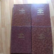 Libros antiguos: LA HISTORIA DEL OESTE. EDICIONES PICAZO. 4 TOMOS.. Lote 153973570